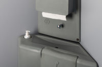 Detail Aufnahme vom Waschbecken