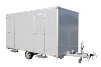 Toilettenwagen 2+1&1 Ansicht von vorne
