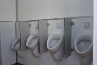 Toilettenwagen 4&1+4 - vier Urinale