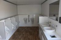 Urinalwagen - Innenansicht