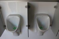 Urinalwagen: Wasserlose Urinale - Detail